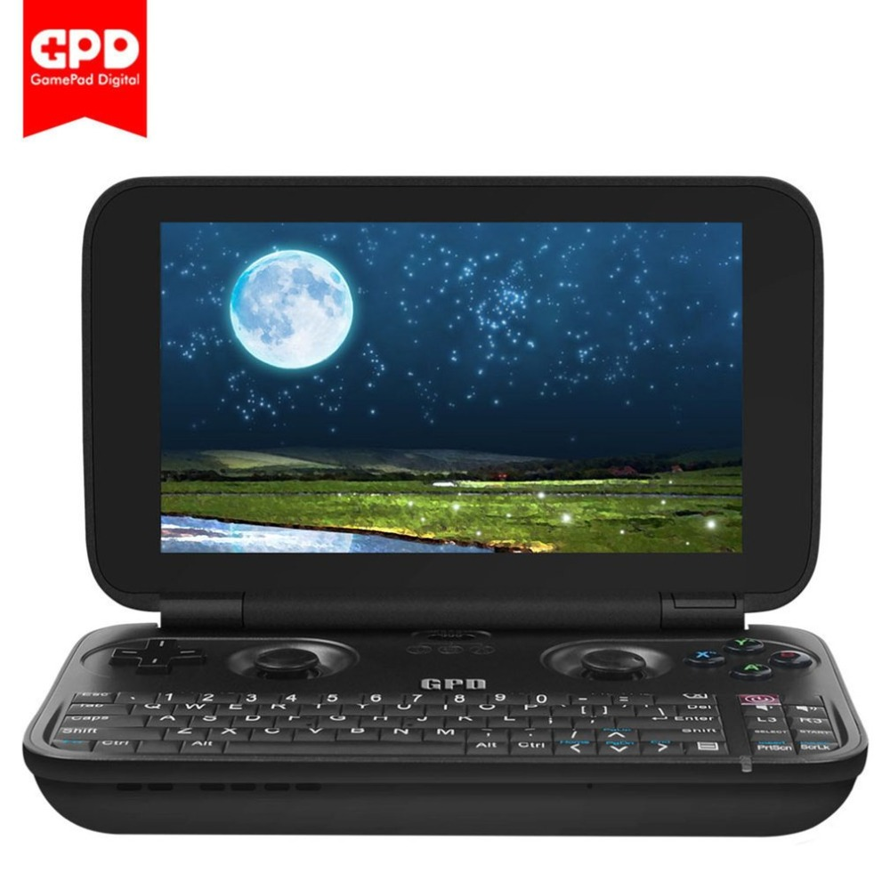 5.5-Inch GPD WIN Aluminium Shell Handheld Game Player Portable Tablet PC 4GB+64GB Touch Screen Handheld Game Console For WIN 10 handheld game 3 inch touch screen lcd displays 4 way cross keypad polar system