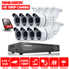 Home Office 8CH H 264 CCTV Digital Standalone Network DVR Recorder 8pcs Outdoor IR Waterproof Cctv