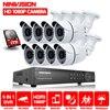 Home Office 8CH H 264 CCTV Digital Standalone Network DVR Recorder 8pcs Outdoor IR Waterproof Cctv