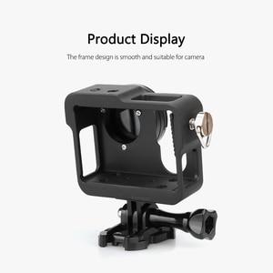 Image 3 - Vamson voor Gopro Accessoires Aluminium Metalen Beschermende Behuizing Case CNC Frame + Lens Cap Cover Filter voor Gopro Hero 4 VP636