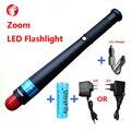 Lanterna LED recarregável 18650 CREE Q5 Ao Ar Livre escalada camping passeio noite Mini Zoom Varas fórmula Tático