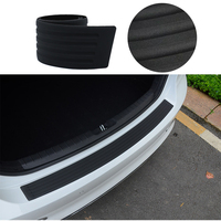 Car Styling 90cm 104cmRubber Bumper Guard Protector Door Edge Strip Trim Black Bumper High Quality Styling