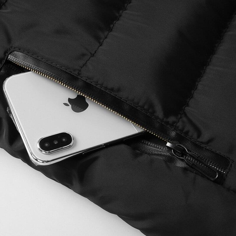 men\`s casual clothing fashion down jackets men leisure dress vests winter warm elegant korean streetwear trend coat vest for men (8)