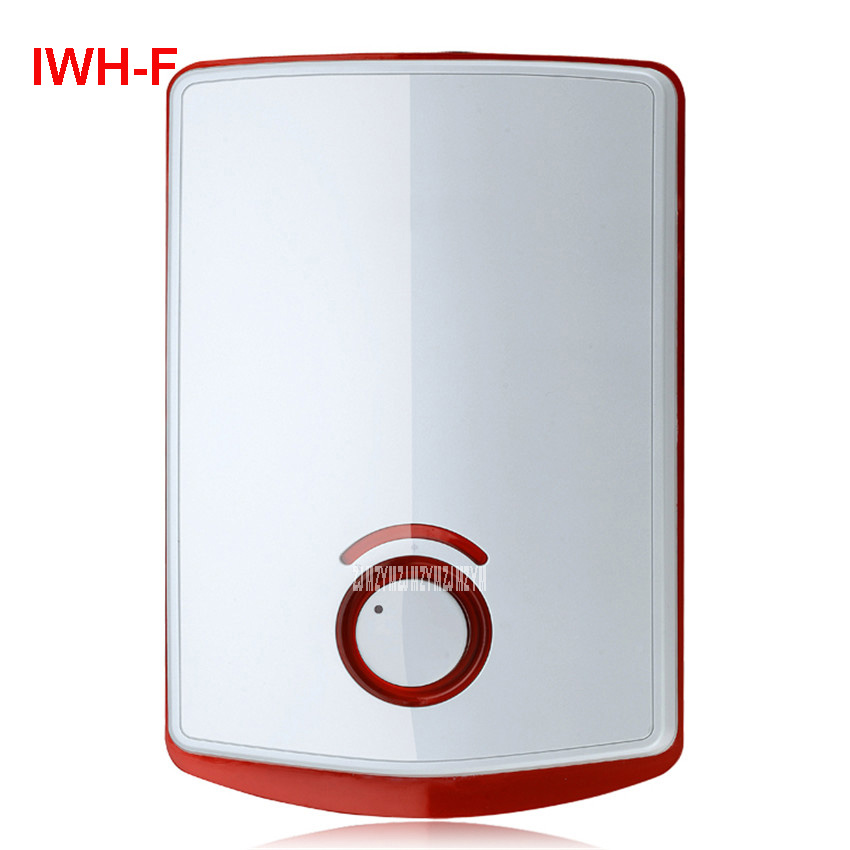 цена на IWH-F 220 V /50 Hz Immediate Electric Shower Speed Hot Shower Bath Induction Heater Electric Heater Water Heater Warm Water