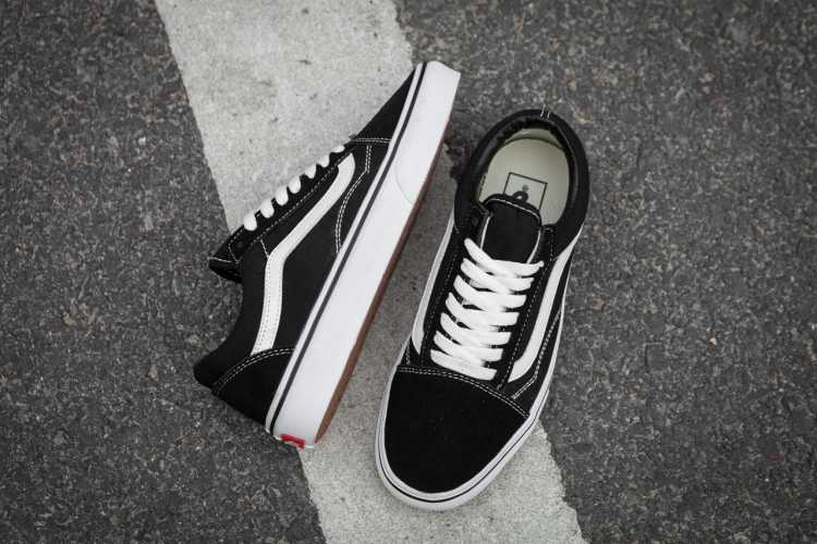fd1169a5de1f1f Detail Feedback Questions about VANS OLD SKOOL Classic Mens Sneakers ...