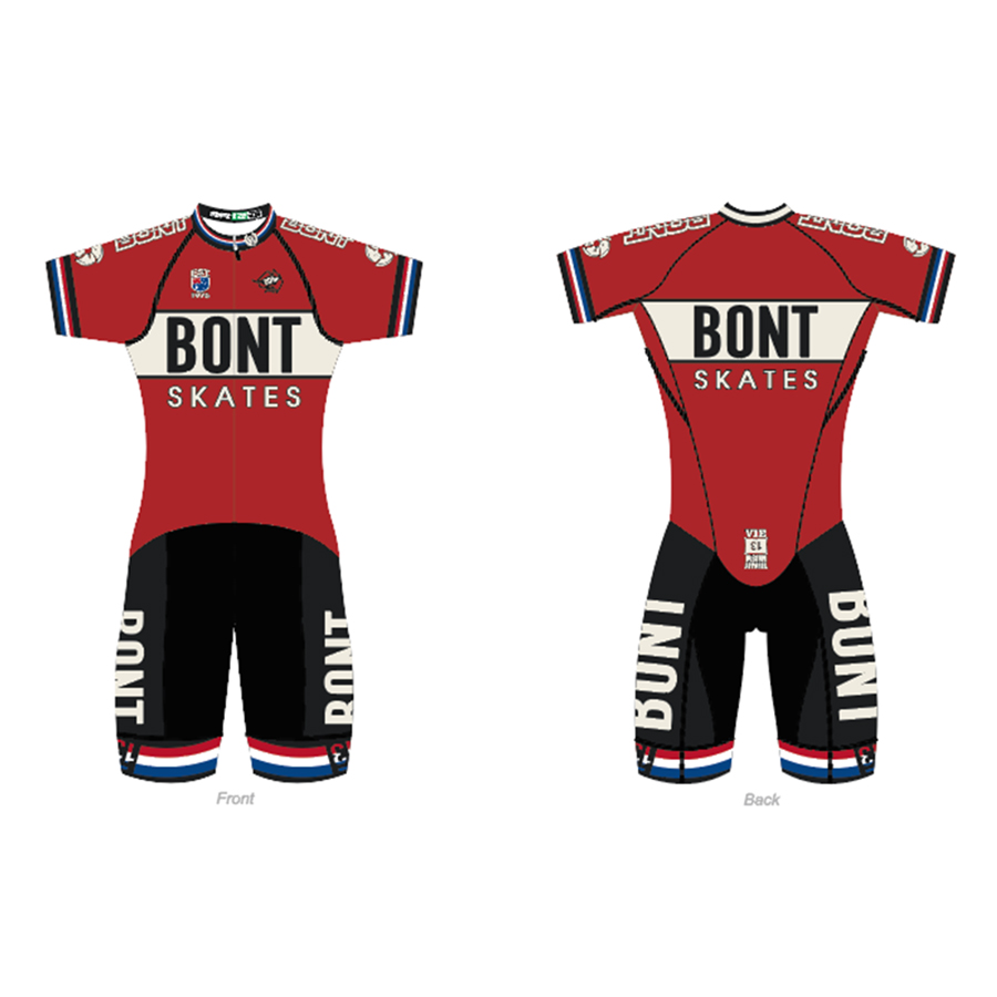 100% Original Bont 2018 RETRO NEO SUIT Professional Speed Skating Body Suit Racing Skating T-shirt Coverall For Patines обогреватель saturn st ht8661