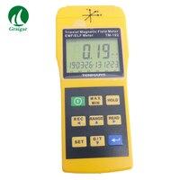 Detector eletromagnético TM-192 30 hz da radiação do medidor de emf do medidor de gauss da linha central a 2000 hz