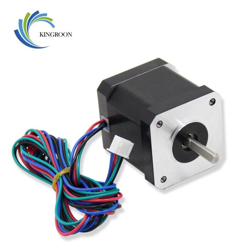 42 paso a paso Motor Nema 17 4-plomo 42 BYGH 1.7A (17HS4401S) con 4 pines Cable Dupont parte CNC XYZ 3D impresoras accesorios de partes de