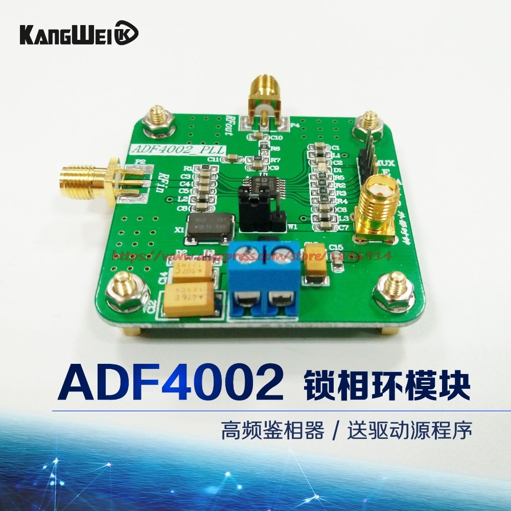 ADF4002 Module High Frequency Phase Detector Phase Locked Loop Module Send Driver Source