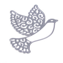 DIY METALEN STANSMESSEN vredesduif bird pigeon Scrapbooking card album papier craft party decor stencils punch snijdt matrijzen snijden(China)