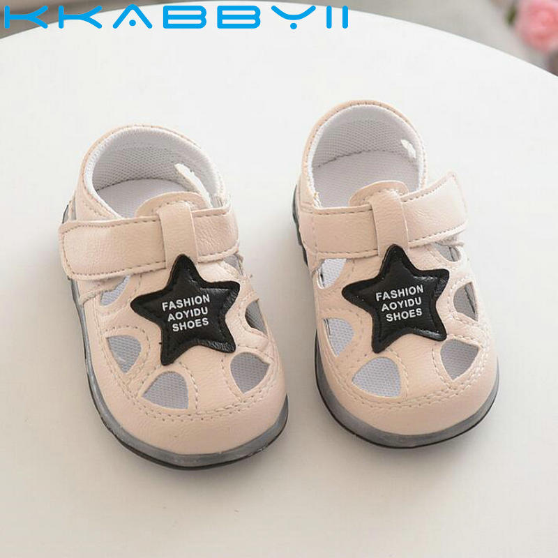 New Summer Fashion Children Shoes With Light Led Kids Shoes Luminous Glowing Sandals Baby Toddler Boy Girls Shoes