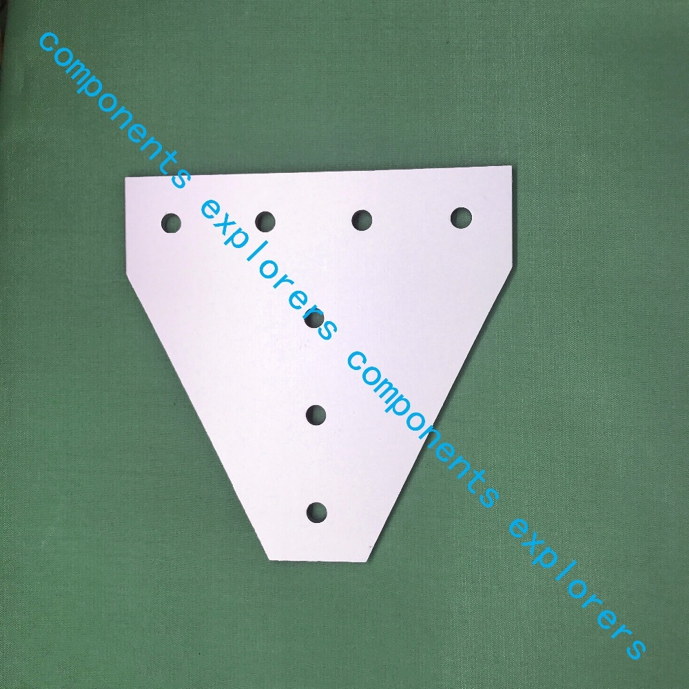 4040T-7-connection plate for reinforcement of profiles,10pcs/lot. пилочка для ногтей leslie store 10 4sides 10pcs lot