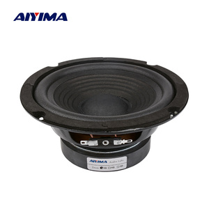AIYIMA 1Pc 6.5 Inch Audio Sound Speaker Woofer Music Loudspeaker 4 Ohm 100 W Bass Speakers DIY For Home Theater Sound System