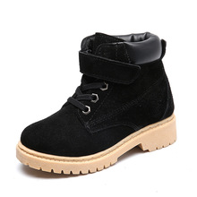 Spring Autumn Winter Childrens Sports Shoes Martin Boots Boys and Girls Snow Casual size 24-37