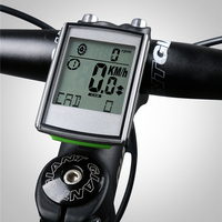 Wireless Bike Computer Heart Rate Speed 3 in 1 Multi Functional LED Odometer Speedometer Bicycle Computer Bicycle Part