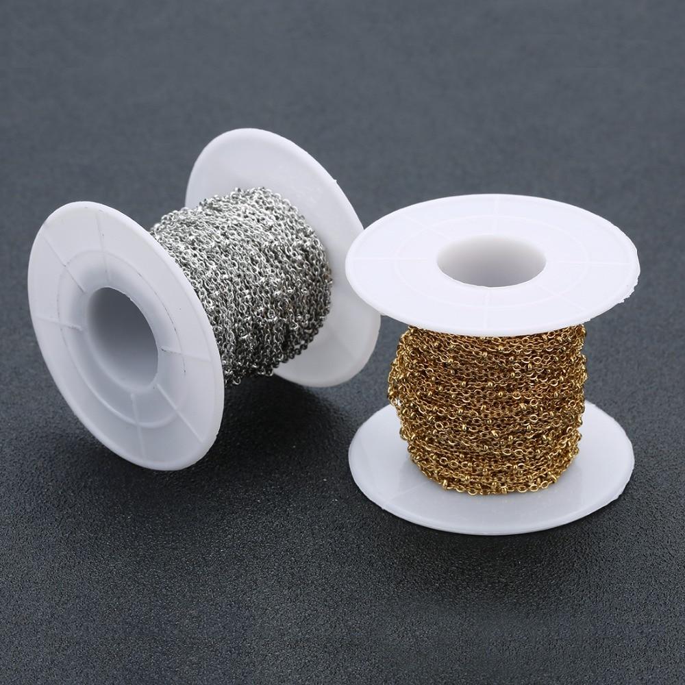 10 ярдов/рулон металлическая цепь из нержавеющей стали 15 мм