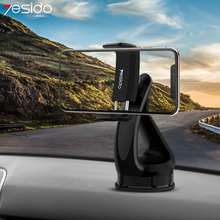 Yesido C1 Windshield Car Phone Mount Holder Stand For Phone Suction Cup Mobile Car Holder For iPhone Xiaomi Desktop Phone Stand стоимость