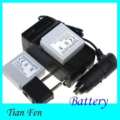 2 PCS Batterie + Chargeur IA-BP85ST IA BP85ST Rechargeable Li ion Batterie pour Samsung VP-10AH VP-MX10AU SC-HMX10 SC-MX10A SC-MX20L