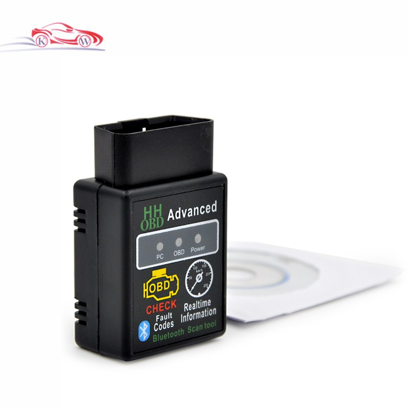 New arrival Auto Car V2.1 ELM327 HH Bluetooth <font><b>OBD</b></font> 2 <font><b>OBD</b></font> II Diagnostic Scan Tool <font><b>Scanner</b></font> free shipping image