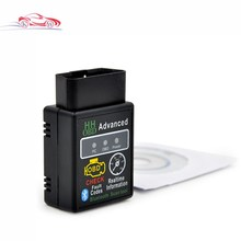 New arrival Auto Car V2.1 ELM327 HH Bluetooth OBD 2 OBD II Diagnostic Scan Tool Scanner free shipping