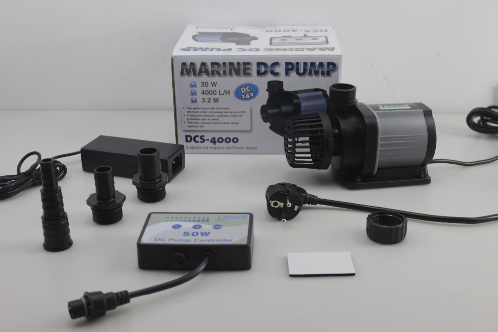 4000l/h Jecod/Jebao DCS 4000 Controllable DC Return Pump Submersible Water Pump Variable Flow for Marine Reef Aquarium Fish Tank-in Water Pumps from Home & Garden