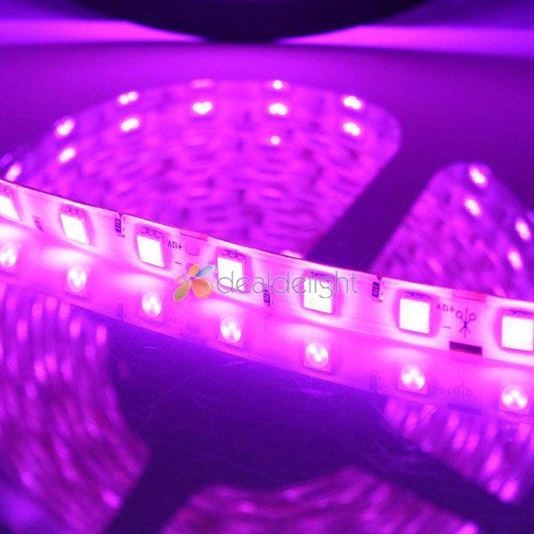 Pink LED Strip Light SMD 5050 60LED / M шамдары DC12V - LED Жарықтандыру - фото 2
