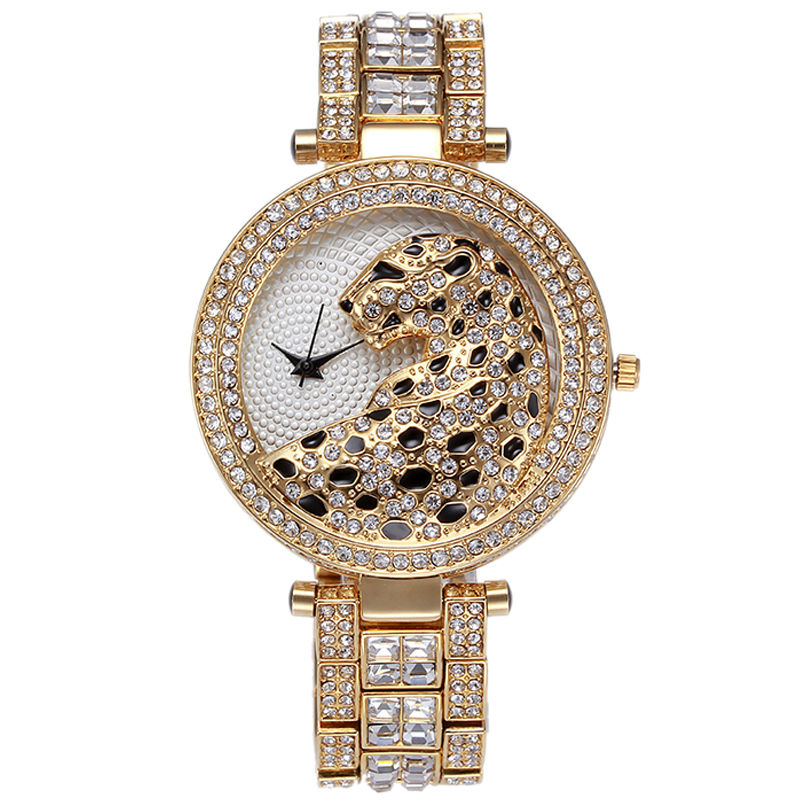 Us 21 99 45 Off Casual Ladies Watches 2016 Quartz Waterproof Nobda Top Luxury Brand Lady Wrist Watch Women Crystal Diamond Tiger For Women Clock In