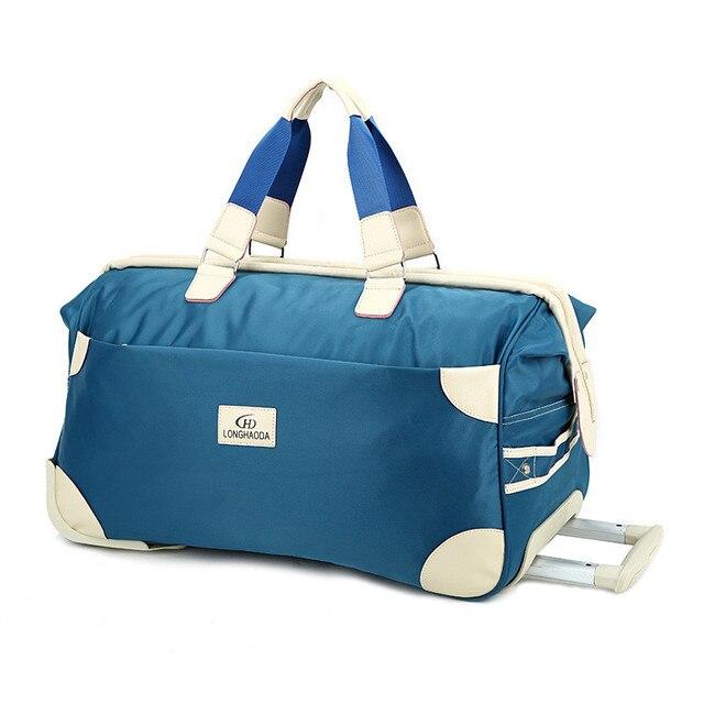 Aliexpress.com : Buy Trolley Travel Bag Hand Luggage 18 inch 50L ...