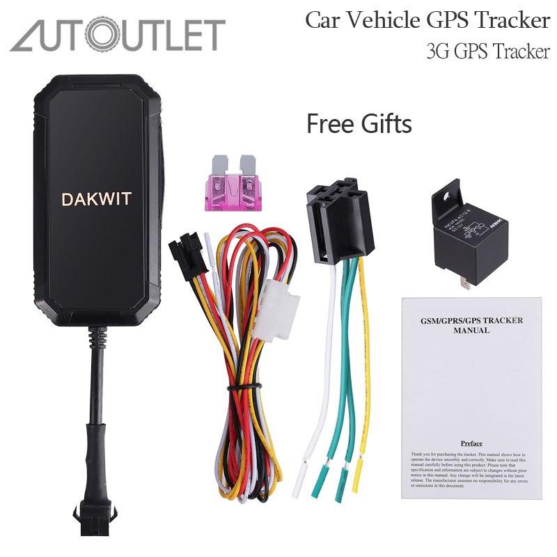 Traqueur de GPS de voiture d'autoutlet TK110 localisateur de traqueur de véhicule suivi en temps réel Tk300 3G traqueur de GPS pour la voiture de véhicule d'appareil