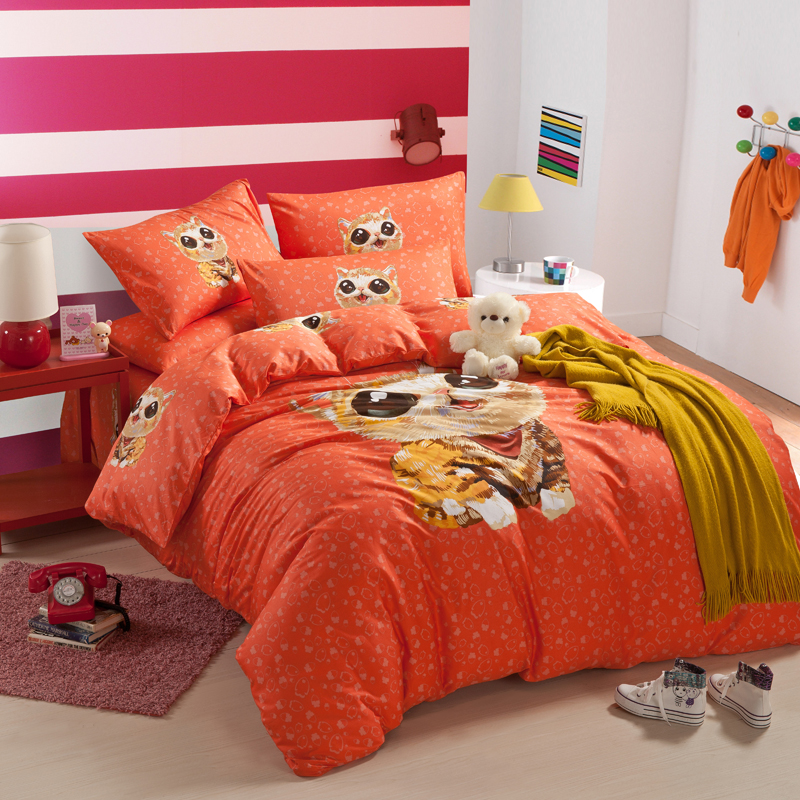 popular dog sheet sets buy cheap dog sheet sets lots from china dog sheet sets suppliers on. Black Bedroom Furniture Sets. Home Design Ideas