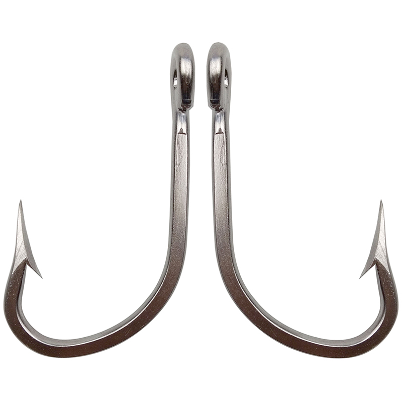 Mustad KVD Size 2  Zero-Twist Shot Black Fishing Hooks 5-pack