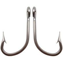 5pcs 7731 Stainless Steel Fishing Hooks Big Thick Tuna Bait Fishing Hook Size 5/0 6/0 7/0 8/0 9/0 10/0 11/0 12/0 13/0 14/0 16/0
