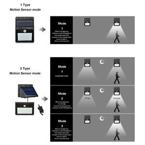 Image 4 - Sensore PIR Prato Inglese HA CONDOTTO LA Lampada A Energia Solare Della Luce Della Parete del Sensore di Movimento del Rivelatore Intelligente di Controllo On Off Luz Solare Giardino Esterno di sicurezza