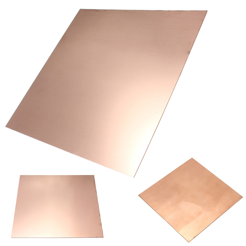 1pc 99.9% Pure Copper Cu Sheet Thin Metal Foil Sheet 100mm*100mm*0.5mm For Industry Tool 1pc high purity copper plate cu metal foil sheet 0 1x200x1000mm best price for power tool accessories