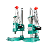 Small manual press industrial desktop micro manual punch hand wrench beer machine punching punching machine