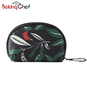 Flower Mini Portable Cosmetic Bag Makeup Case Toiletry Vanity Organizer Travel Bulk Accessories Supplies Product makeup organizer box
