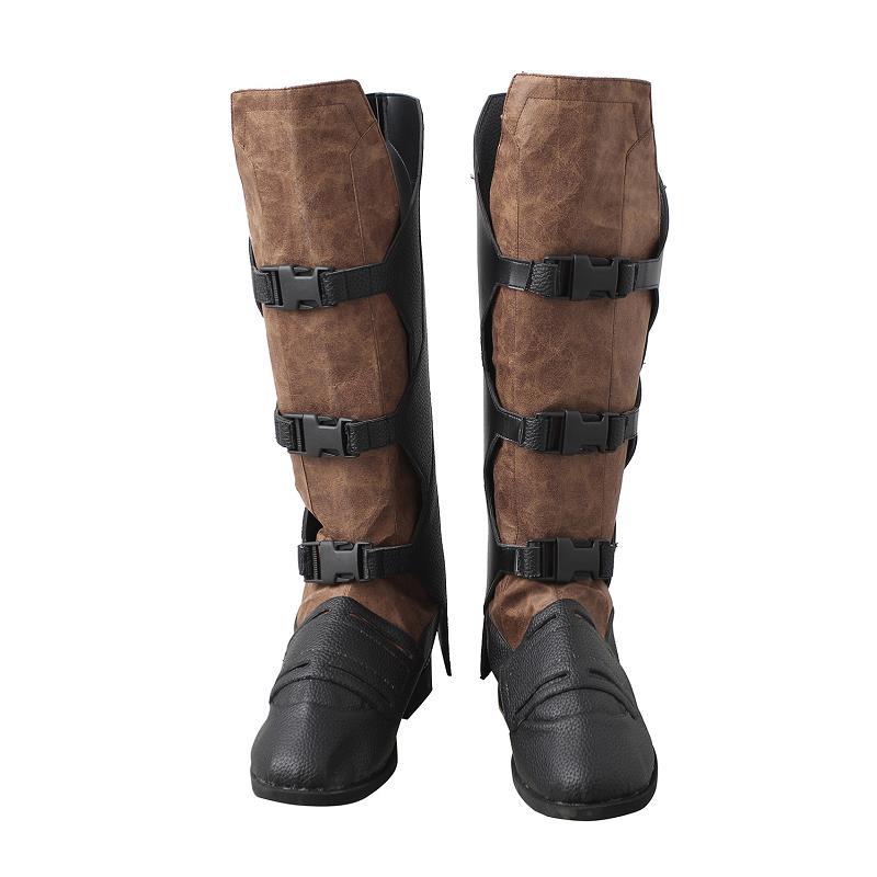 Guardians of the Galaxy 2 Star-Lord Peter Shoes Boots Halloween Cosplay Boots