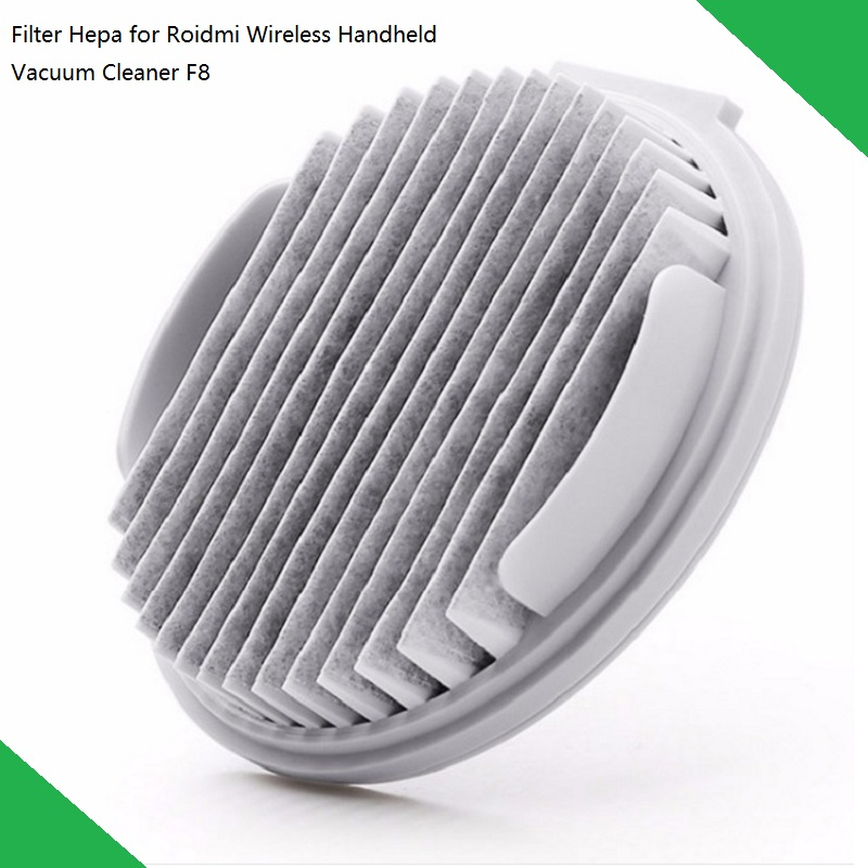 2pcs/4pcs Washable Repeatedly Use Filter For Xiaomi ROIDMI Handheld Vacuum Cleaner F8 Replacement Spare Parts App Remind
