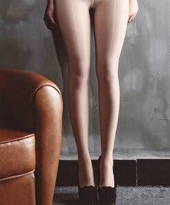 Image 4 - Hoogglans Sheer Teen Olie Afwerking Panty Shining Collant Festish Panty Obsessie Verslaving Teen Lick Glossy Beledigende Fantasy