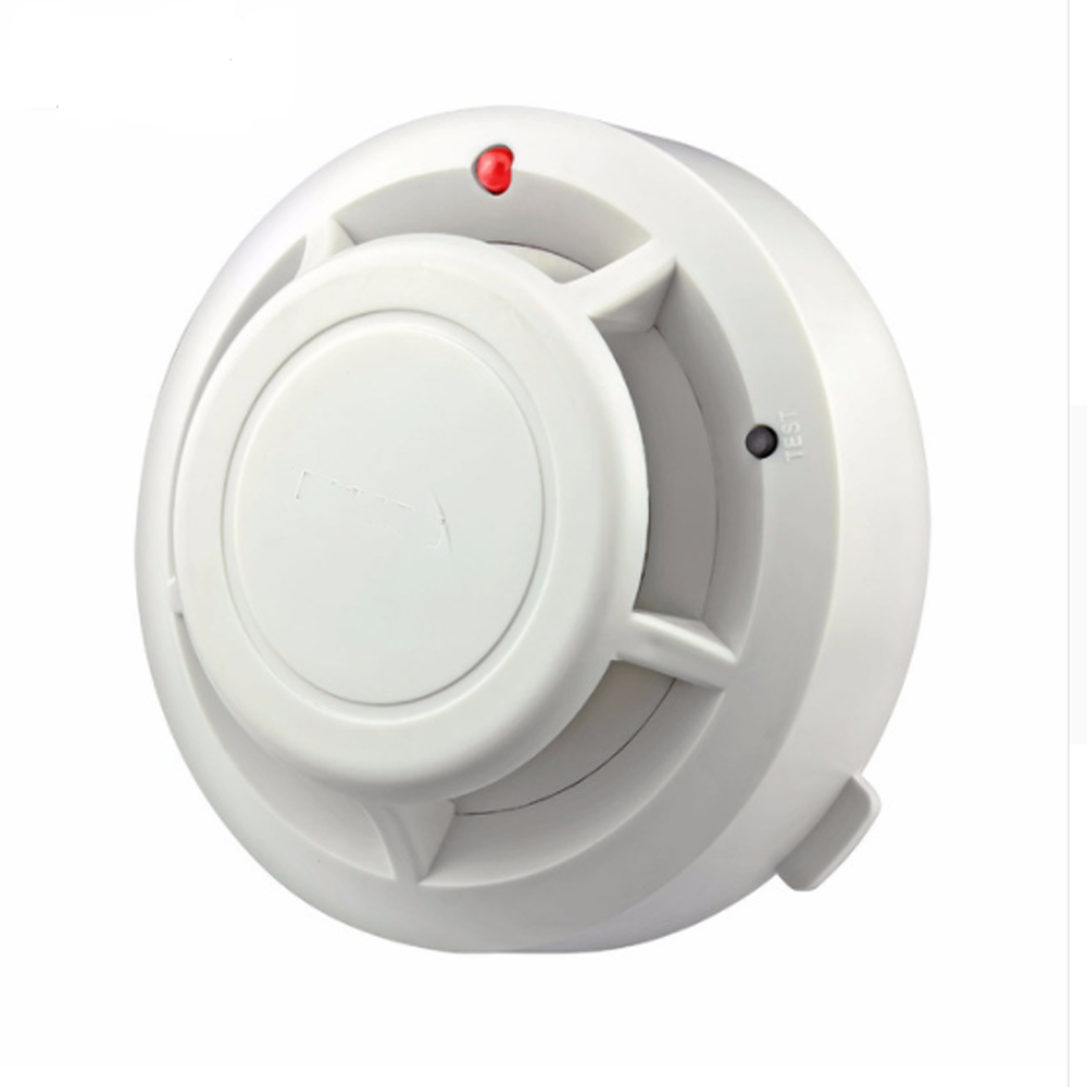 Wireless RT Flash Warning Fire Alarm Independent Fire Smoke Detector Sensor Alarm For Office Home Security