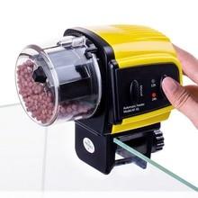 Digital Automatic Electrical Food Feeder Plastic Fish Tank Timer Home Aquarium Feeding Portable