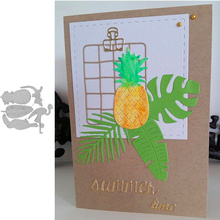 Pineapple and Company Metal Cutting Dies Stencils for DIY Scrapbooking Album Stamp Card Embossing New 2019 Die Cut