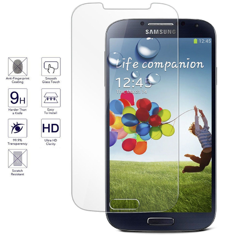 f70d745ca2f Amazing 9H 0.26mm Screen Protector Tempered Glass Film for Samsung Galaxy  S2 S3 S4 S5 Mini S6 S6 edge Plus S7 Protective Films