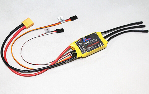40A Profession Forward/Reverse Both Way Brushless ESC For Polaris RC Seaplane Water Reverse Drift(2-6S Lipo 26V max)