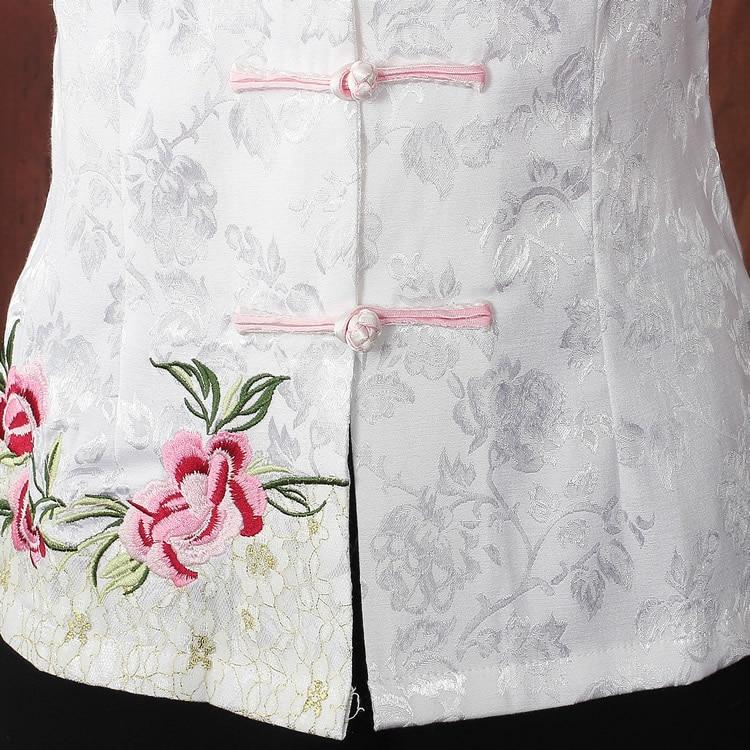 Tradtional Chinese Shirt Kvinnors satinplagg Storlek M till - Nationella kläder - Foto 5