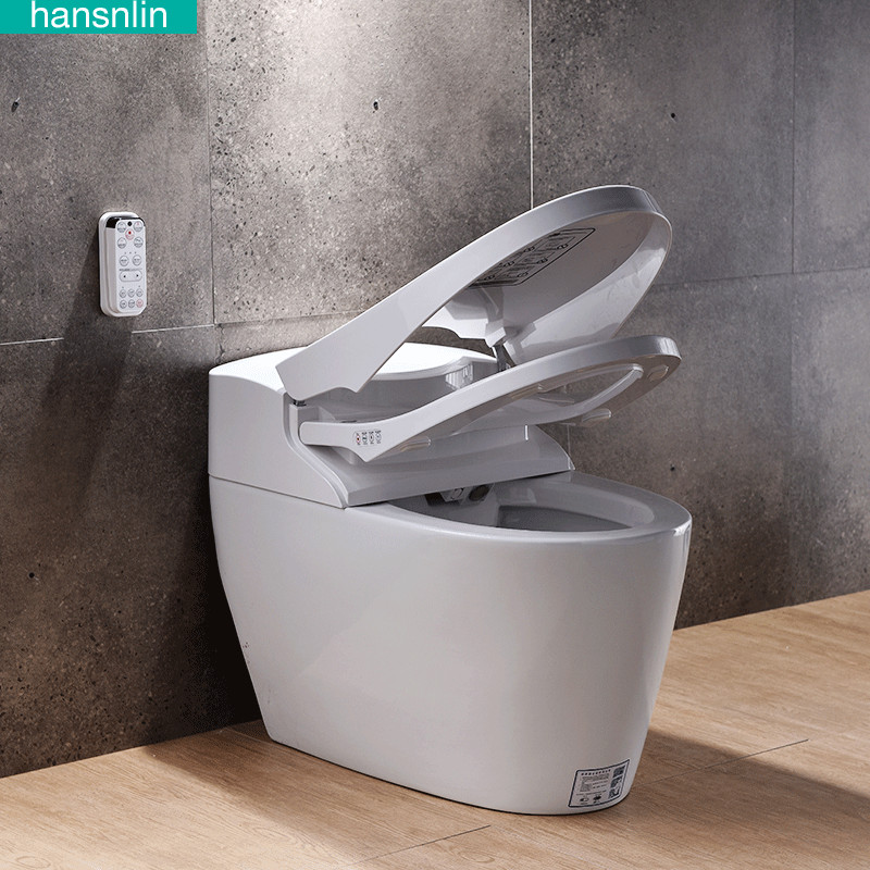 Astounding Us 882 0 10 Off Eco Smart Toilet Commode Fully Integrated Bidet System Bathroom Washlet Closestool Toilette Wall Hung Toilets Bowl Heated Seat In Gmtry Best Dining Table And Chair Ideas Images Gmtryco