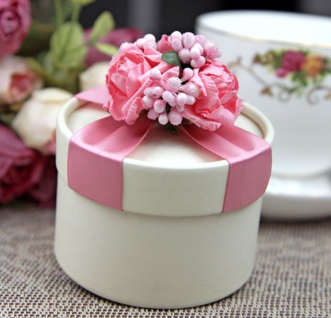 Pink Wedding Candy Box With Flower Decors 802 Luxury Gift Package Wedding Party Favors Free Shipping & Aliexpress.com : Buy Pink Wedding Candy Box With Flower Decors 802 ... Aboutintivar.Com