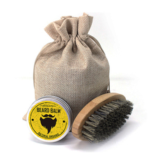 Men Beard Oil Kit With Beard Oil , Brush, Male Beard Care Set W