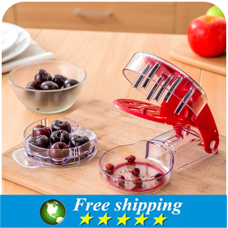 Cherry Pitter Olive Stoner Corer Hand Held Seed Remover Cherry Tool For Home