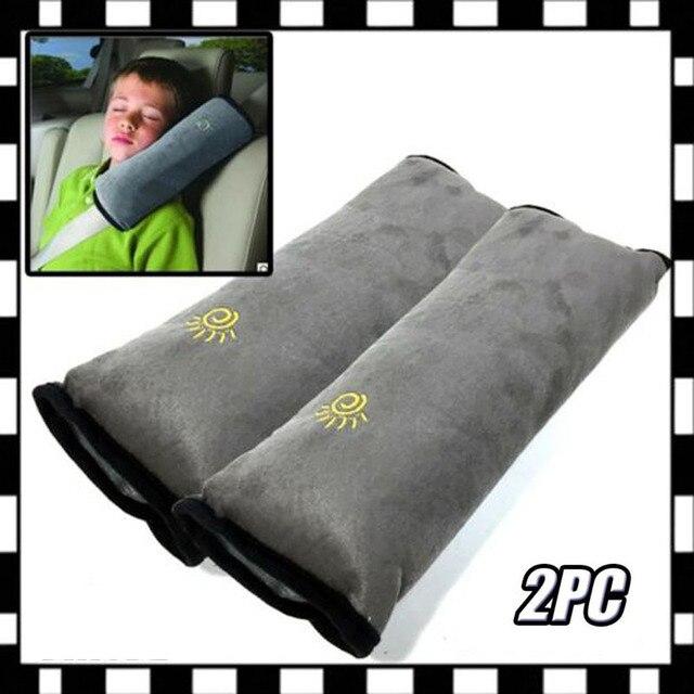カバーシートベルト枕安全ベルトプロテクタークッション子供のための 1 Pc のショルダーストラップパッドクッションヘッドサポート